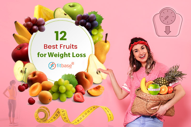 The 12 Best Fruits for Weight Loss!