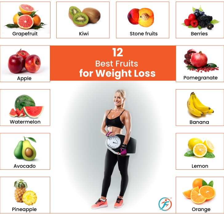 Fruits Promote Weight Loss