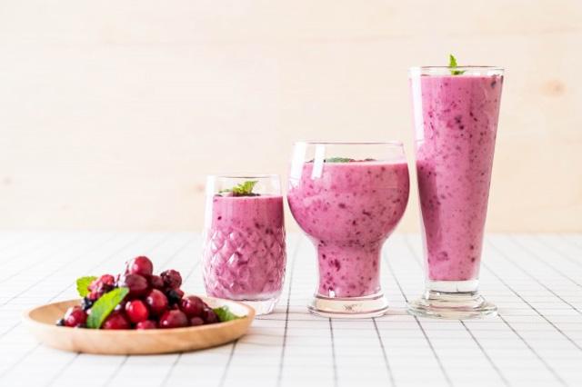Berries and Milk