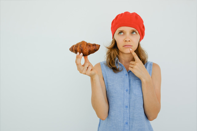 Think Negative Unhealthy Food
