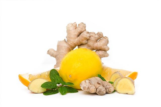 Ginger and Lemon Mix